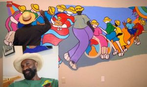 Brian Joseph and his art